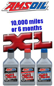 AMSOIL XL 10,000 mile drain synthetic